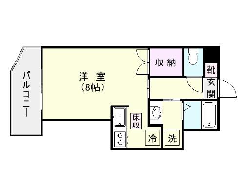 MARE谷山 102号室