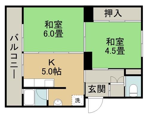 ファーストプレイス合志2号棟 + 306 号室