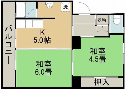 ファーストプレイス合志2号棟 + 503 号室