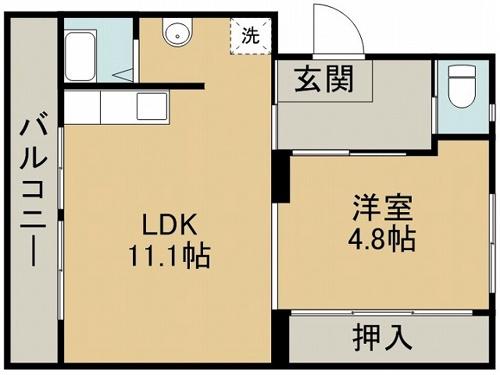 ファーストプレイス合志1号棟 + 507 号室