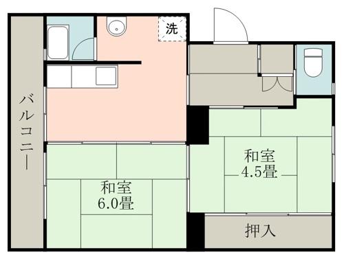 ファーストプレイス合志1号棟 + 405 号室