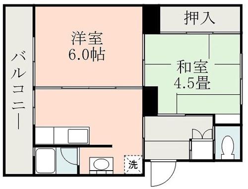ファーストプレイス合志1号棟 + 406 号室