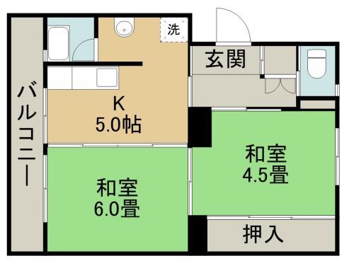 ファーストプレイス合志1号棟 + 501 号室
