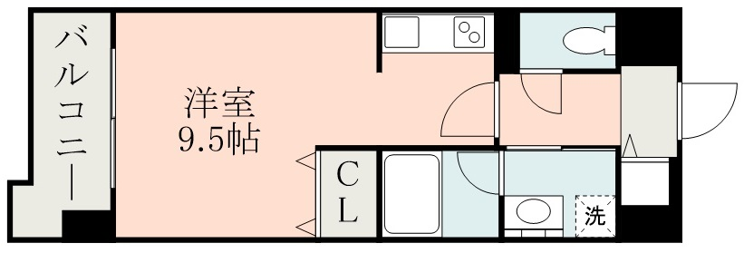 クレスト熊本城 1203号室